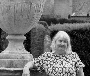 Black and white Blickling photo